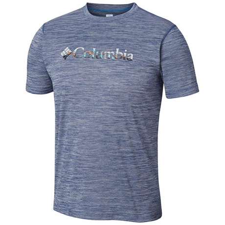 Футболка мужская Columbia ZERO RULES Short Sleeve Graphic Shirt