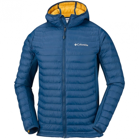 Куртка мужская Сolumbia POWDER PASS™ Hooded Jacket